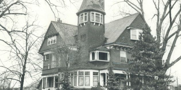 CANADA - APRIL 06:  The Heintzman house: Theodore August Heintzman; who left his name on untold thousands of pianos throughout the world; lived in this house with the red brick tower at 288 Annette St. in the 1890s. He died in the summer of 1899 when he was 83. Relatives lived in the house until 1920.   (Photo by Dick Loek/Toronto Star via Getty Images)