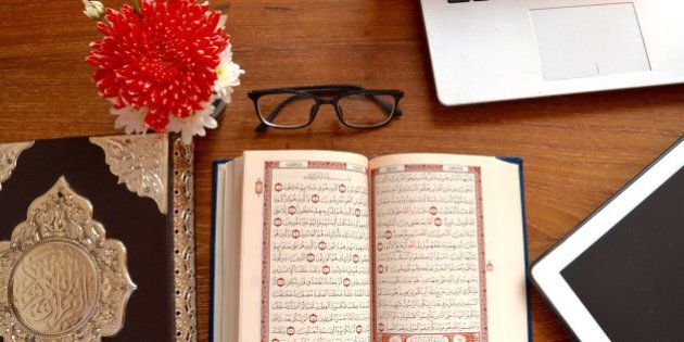 The month of Ramadan in which was revealed the Qur'an, a guidance for mankind, and clear proofs of the guidance, and the Criterion (of right and wrong). Quran 2:185