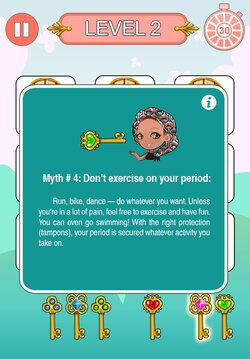 How A Smartphone Game Is Busting Menstrual