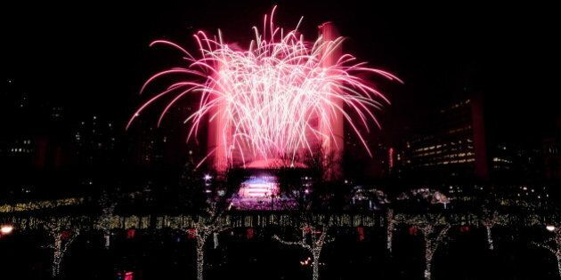 New Year's Eve Fireworks: The Best Places In Canada To Ring In 2014