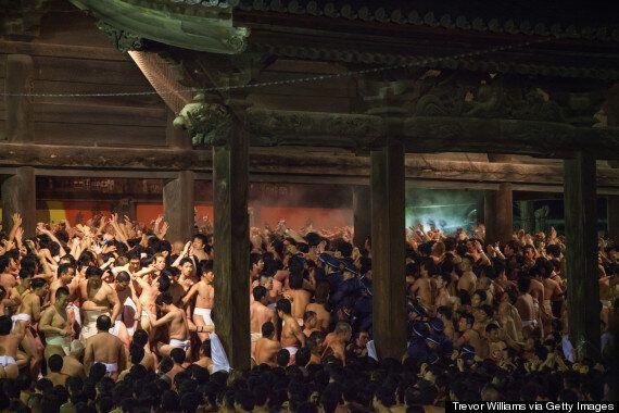 Hadaka Matsuri, Japan's 'Naked Festival', Leaves Little To The
