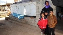 The Chilly Shelter Of An Iraqi Family Forced From