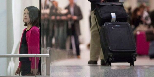 Don't Panic: Teenagers Stranded Alone in Airports Will