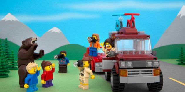 Jeff Friesen's Canadian LEGO Models Will Put A Smile On Your Face