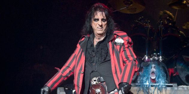 Alice Cooper live in concert at The Civic Hall,