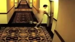 WATCH: Naked Man Locks Himself Out Of Hotel