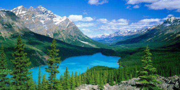 Canada, Alberta, Banff National Park and Peyto Lake