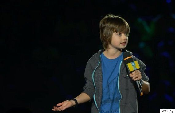 We Day Toronto Didn't Shy Away From Tough Topics Like Depression, Syrian Refugee