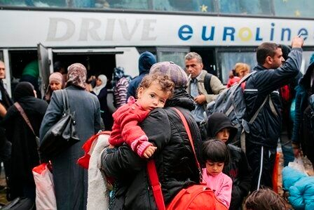 The Odyssey of Syrian Children Heading for