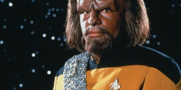 Michael Dorn Talks Playing Worf, And Tries To Explain 'Star Trek: The Next Generation'