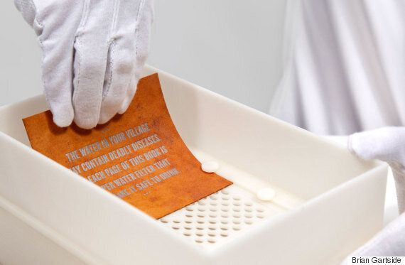 This 'Drinkable Book' Purifies Water By Removing 99.9 Per Cent Of
