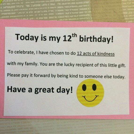 This 12-Year-Old Paid It Forward for Her Birthday - 12