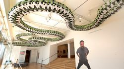 Ai Weiwei's Exhibit (and Middle Finger) Arrive in
