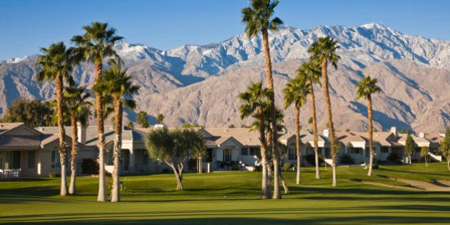 Palm Springs is a desert city in Riverside County, California, within the Coachella Valley. Golf, swimming,...