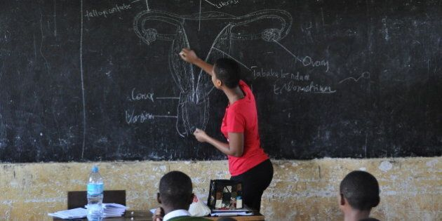 How This NGO Is Teaching Girls Taboo