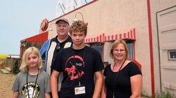 California Family Picks Trip To 'Corner Gas' Set Over