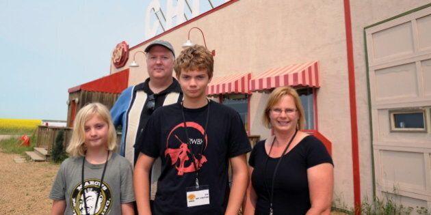 Sacramento, Calif. Family Chooses Trip To 'Corner Gas' Movie Set Over