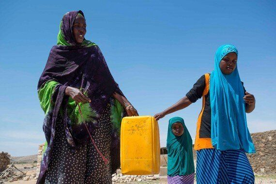 Drought Is Forcing Somali Families To Split Up Just To