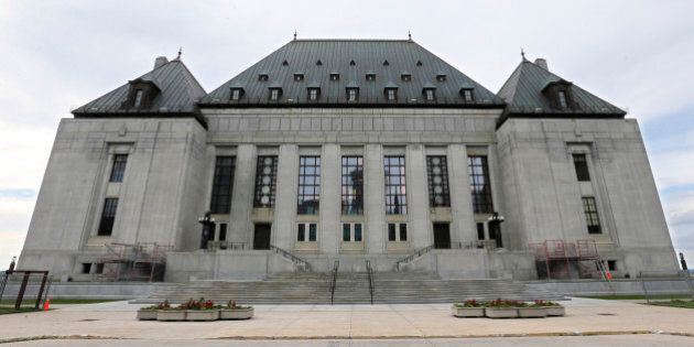OTTAWA, ON - JUNE 15: Ottawa, Canada - June 15 - The Supreme Court of Canada.Stock photography of buildings...