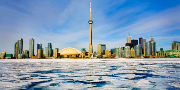 Toronto Skyline in