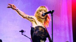 WATCH: Courtney Love Eviscerates Concert Goer Mid