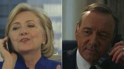 ►Frank Underwood Prank Calls Hillary