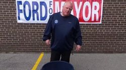 WATCH: Rob Ford Does The Ice Bucket