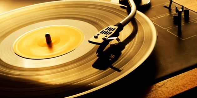 Record Spinning on Turn