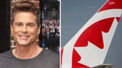 UPDATE: Rob Lowe Really Doesn't Like Air Canada