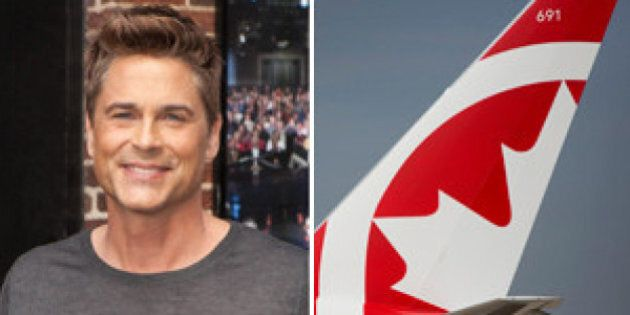Rob Lowe Really Doesn't Like Air Canada Rouge. Here's His Disdain In Tweets