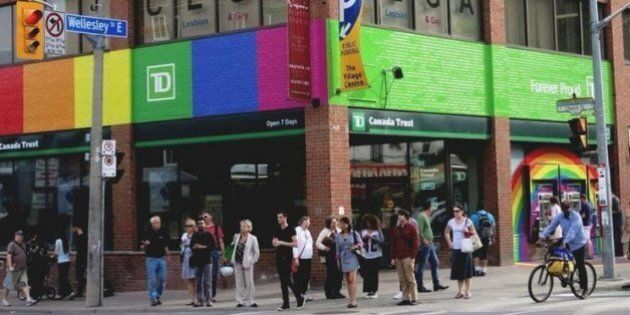 TD Bank's Diversity A Point Of Literal Pride For