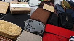 Behind the curtain: Airline amenity kits