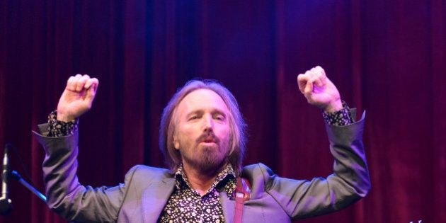 MANCHESTER, TN - JUNE 16: Tom Petty performs during the 2013 Bonnaroo Music & Arts Festival on June 16,...