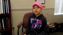 WATCH: Ojibwe Girl Pleads To Stop