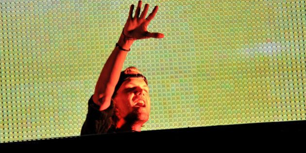 TORONTO, ON - MAY 17: DJ/Producer Avicii In Concert at Rogers Centre on May 17, 2014 in Toronto, Canada....