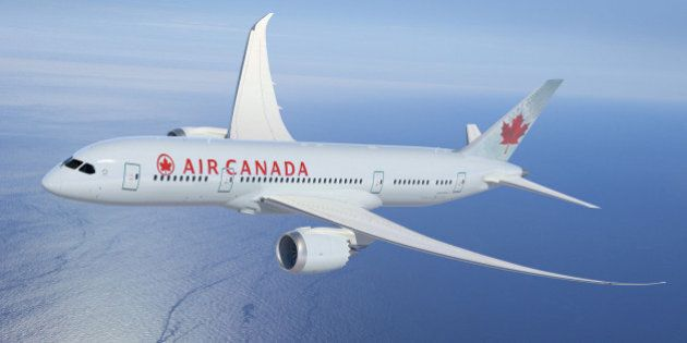 Air Canada's Dreamliner Touches Down In
