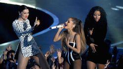 Nicki Minaj Has Wardrobe Malfunction On MTV VMA Opening