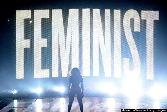 Beyonce's Feminist Silhouette At VMAs Acts As Rebuke To Women Against