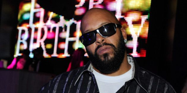 LAS VEGAS, NV - NOVEMBER 19:  Music producer Marion 'Suge' Knight attends the Chateau Nightclub & Gardens at the Paris Las Vegas on November 19, 2011 in Las Vegas, Nevada.  (Photo by David Becker/WireImage)