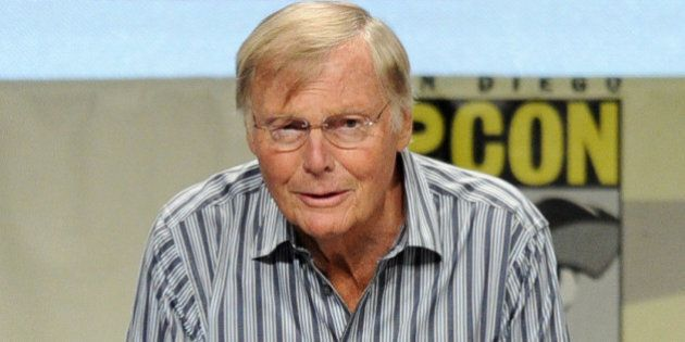 SAN DIEGO, CA - JULY 24: Actor Adam West attends the 'Batman: The Complete Series' DVD release presentation...
