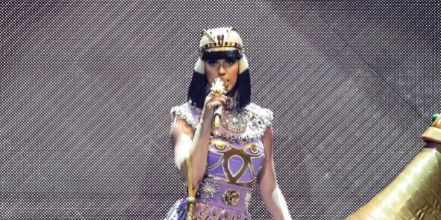 BELFAST, UNITED KINGDOM - MAY 07: Katy Perry performs on stage during the opening night of the Prismatic...