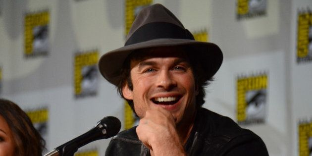 Ian Somerhalder attends
