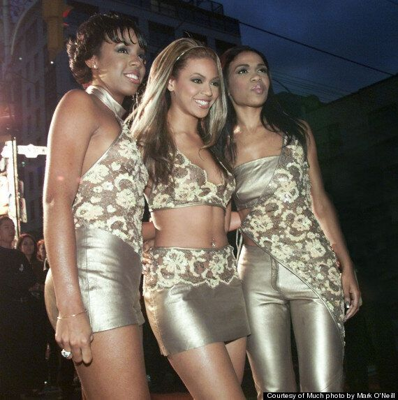 MMVAs Throwback Thursday: Destiny's Child Say Their Name At 2000 MuchMusic Video