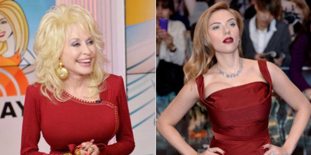 Dolly Parton Wants 'Full Bosomed' Scarlett Johansson To Play Her In