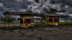 Abandoned Drive-Ins Don't Get Any Creepier Than