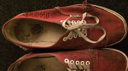 Canadian Rocker Sells His Dirty, Old Sneakers For