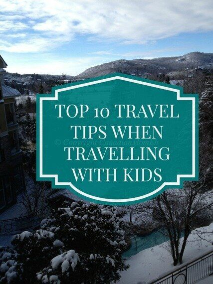 Top 10 Survival Tips for Travelling with