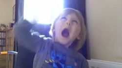 Heavy Metal Two-Year-Old Rocks Out To Metallica's 'Creeping
