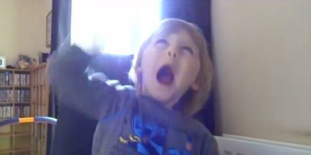 Heavy Metal Toddler Rocks Out To Metallica's 'Creeping