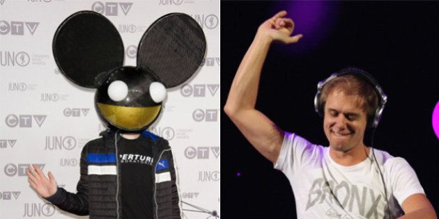 Deadmau5 Smacked Down By Armin Van Buuren